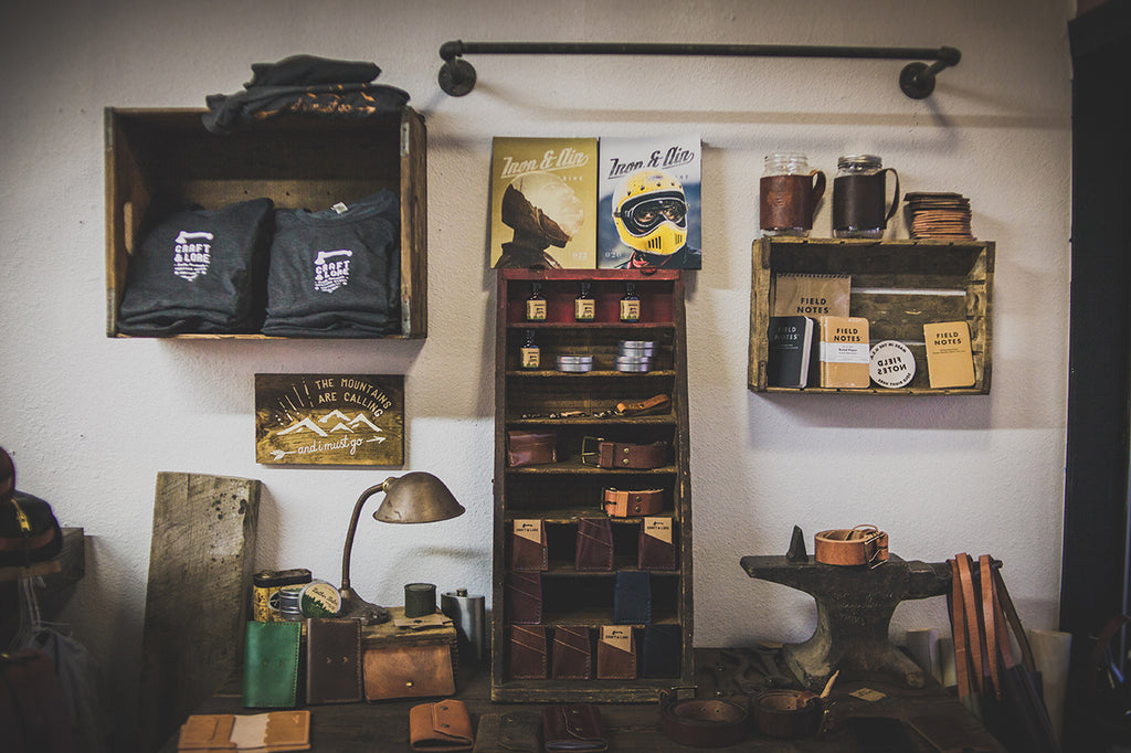 Leather goods retail store in Coeur d'Alene Idaho