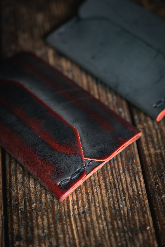 Black Cherry Ghost Wallet patina craft and lore Enfold Card