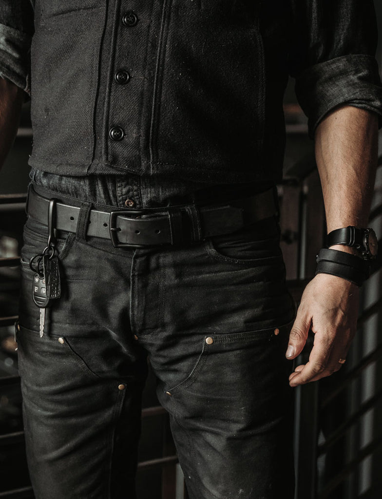 Craft and Lore Blackout Leather goods