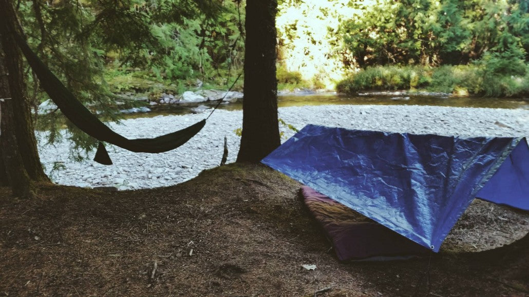 Hammock and Sleep bag