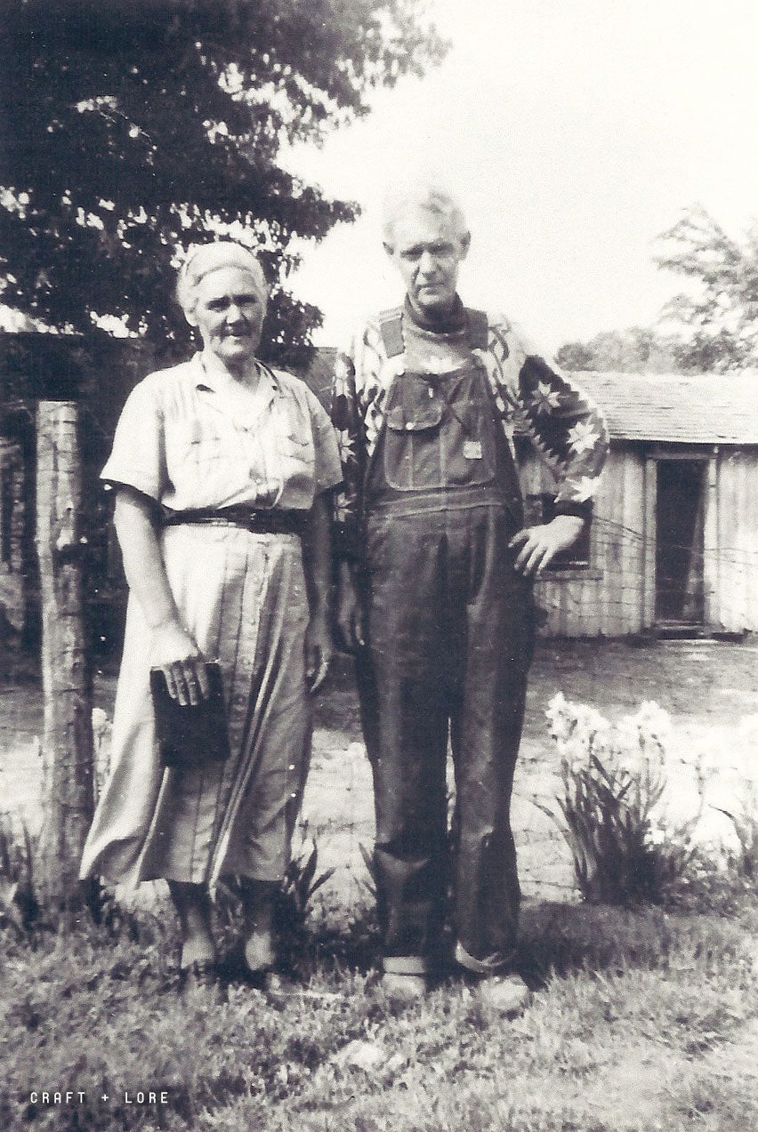 My Great Grandparents on their Oklahoma Homestead