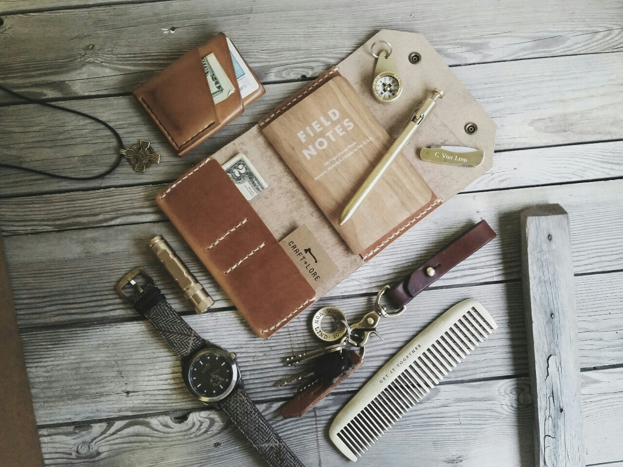 leather-brass-edc