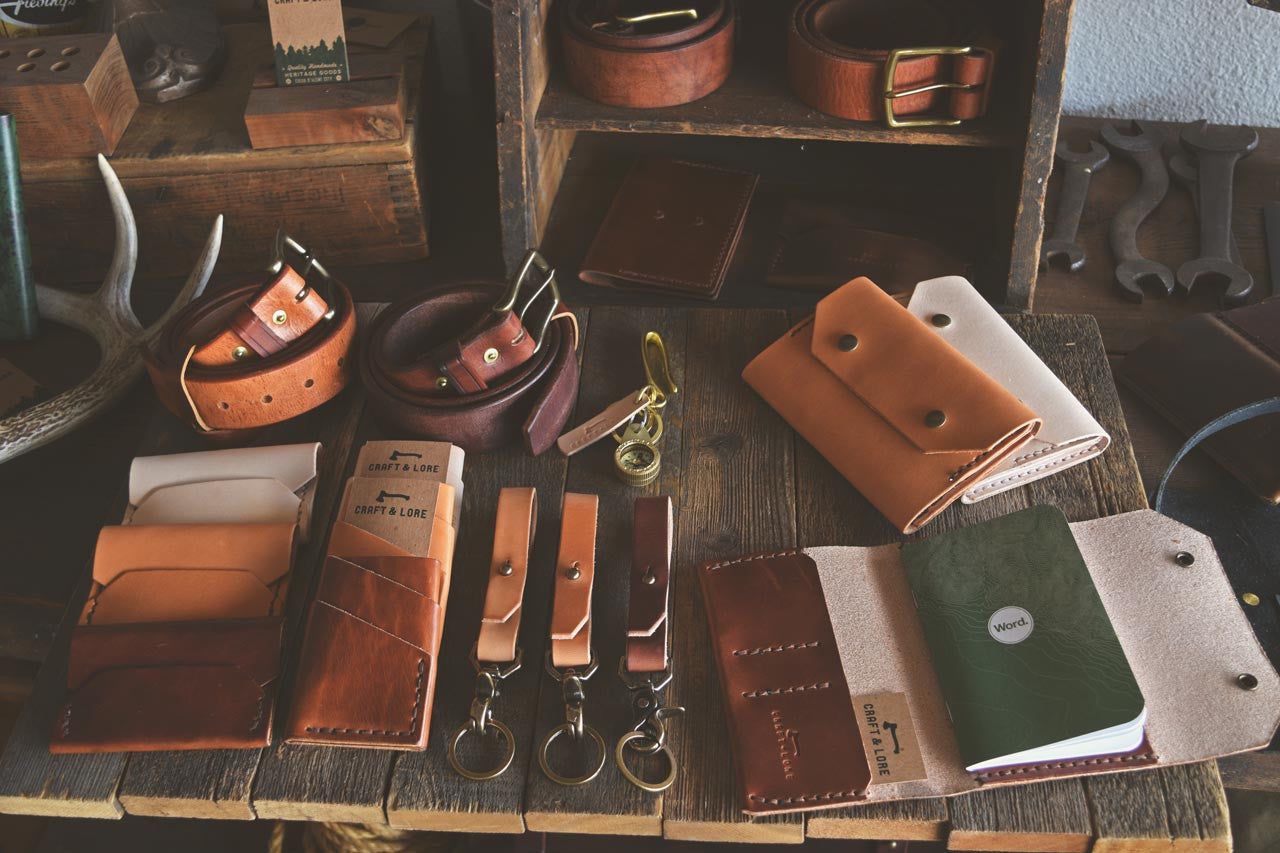 Wholesale Handmade Leather Goods Craft and Lore