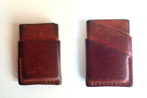 Horween Port Wallet Minimal Card