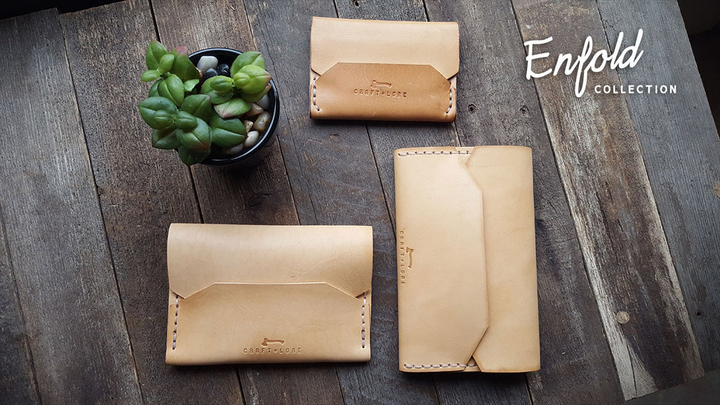 Enfold Handmade Leather Wallets