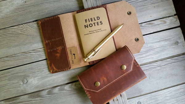 Corporate Event Gifts for Executives Leather Notebook