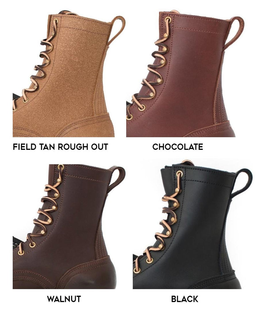 Task Boot Leather Color Options