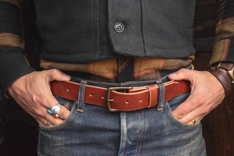 Craft Belt Mahogany