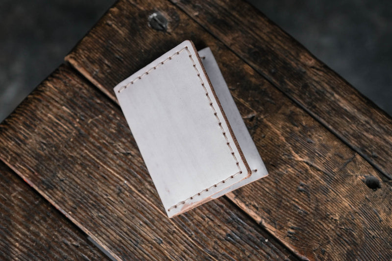 Insider Wallet by Craft and Lore handmade from Ghost Whiskey leather