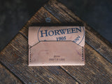 Enfold Wallet Horween Shell Cordovan handmade leather quality durable unique alternative design pnw craftsmanship