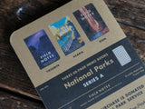 Field Notes Notebooks National Parks Limited Edition