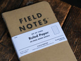 Field Notes Brand notebooks journal log book pocket size ruled graph