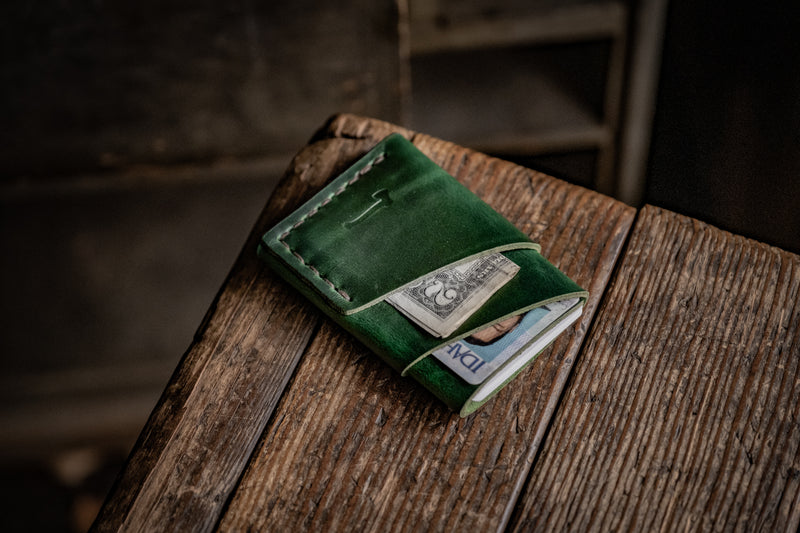 LIMITED Green Port Wallet