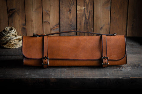 Leather Tool Bag, Handmade Heirloom Durable Heritage Minimal Leather Bag Craft and Lore