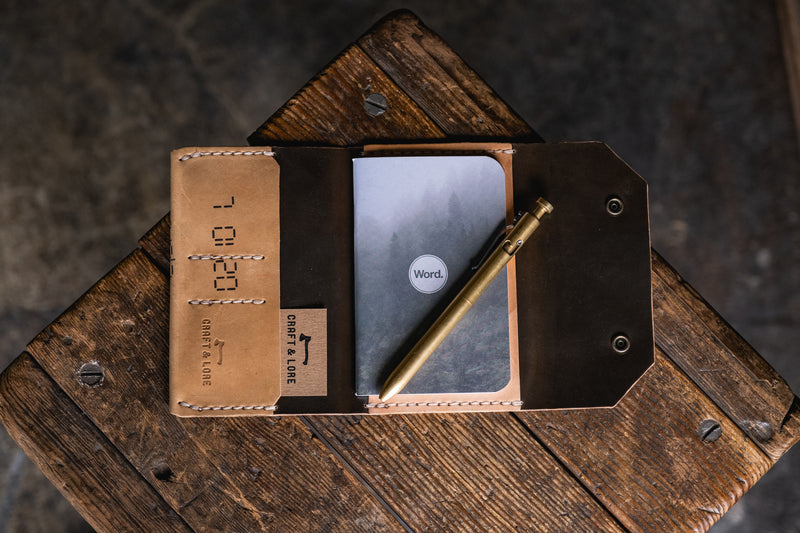 Northwestward Field Notes, Horween Shell Cordovan