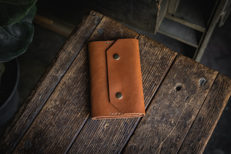 Northwestward Field Notes, handmade leather notebook wallet durable usa pnw rugged tough log book journal pocketbook