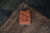 Port Wallet Craft and Lore, Horween Dublin English Tan and hand stitched with natural thread