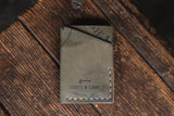 Twobit Wallet Minimal Leather Card Wallet Handmade Horween Shell Cordovan PNW USA