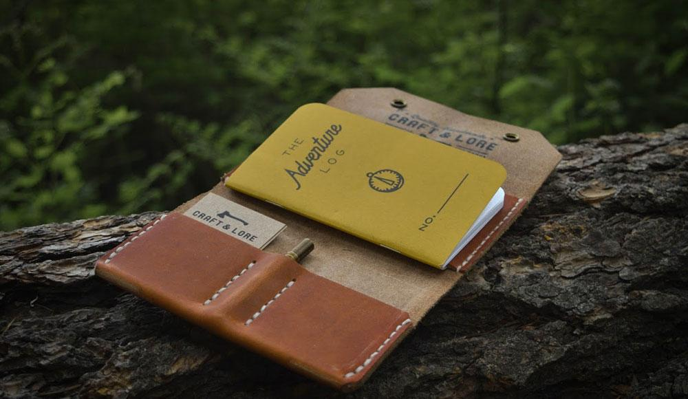 Enfold Collection of handmade leather goods