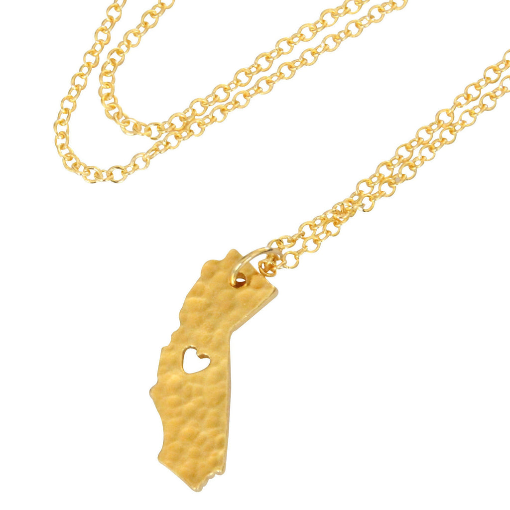 Gold 'California Love' Necklace
