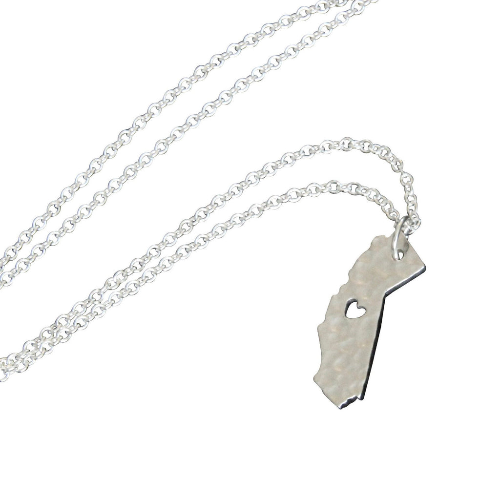Silver 'California Love' Necklace