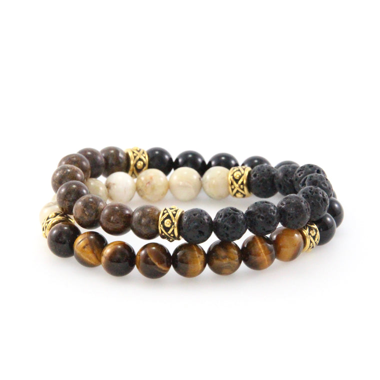 Legend Gold Double Wrap Bracelet