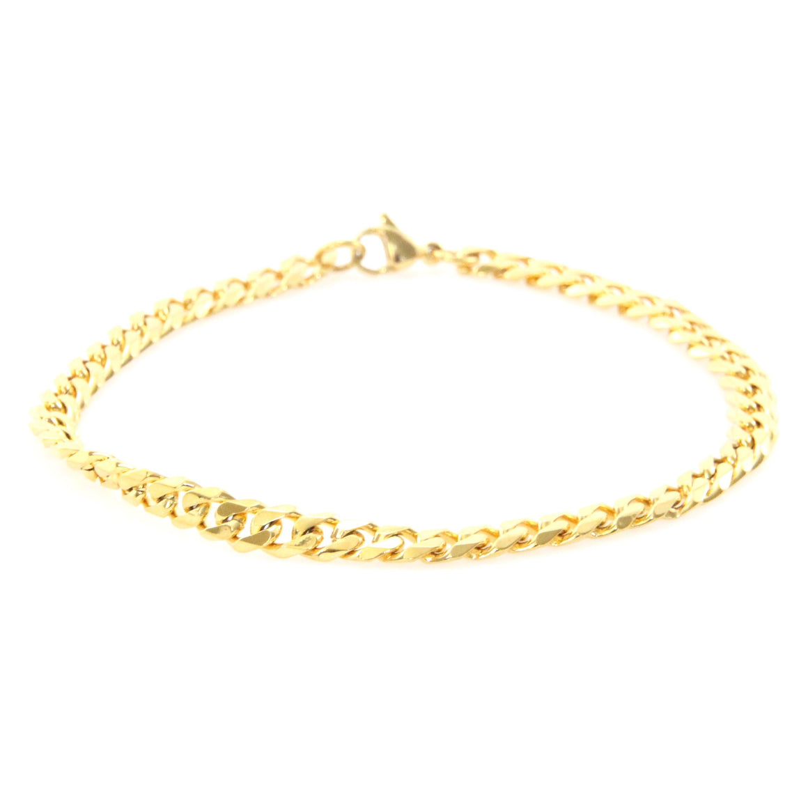 5mm Gold Stainless Steel Curb Chain