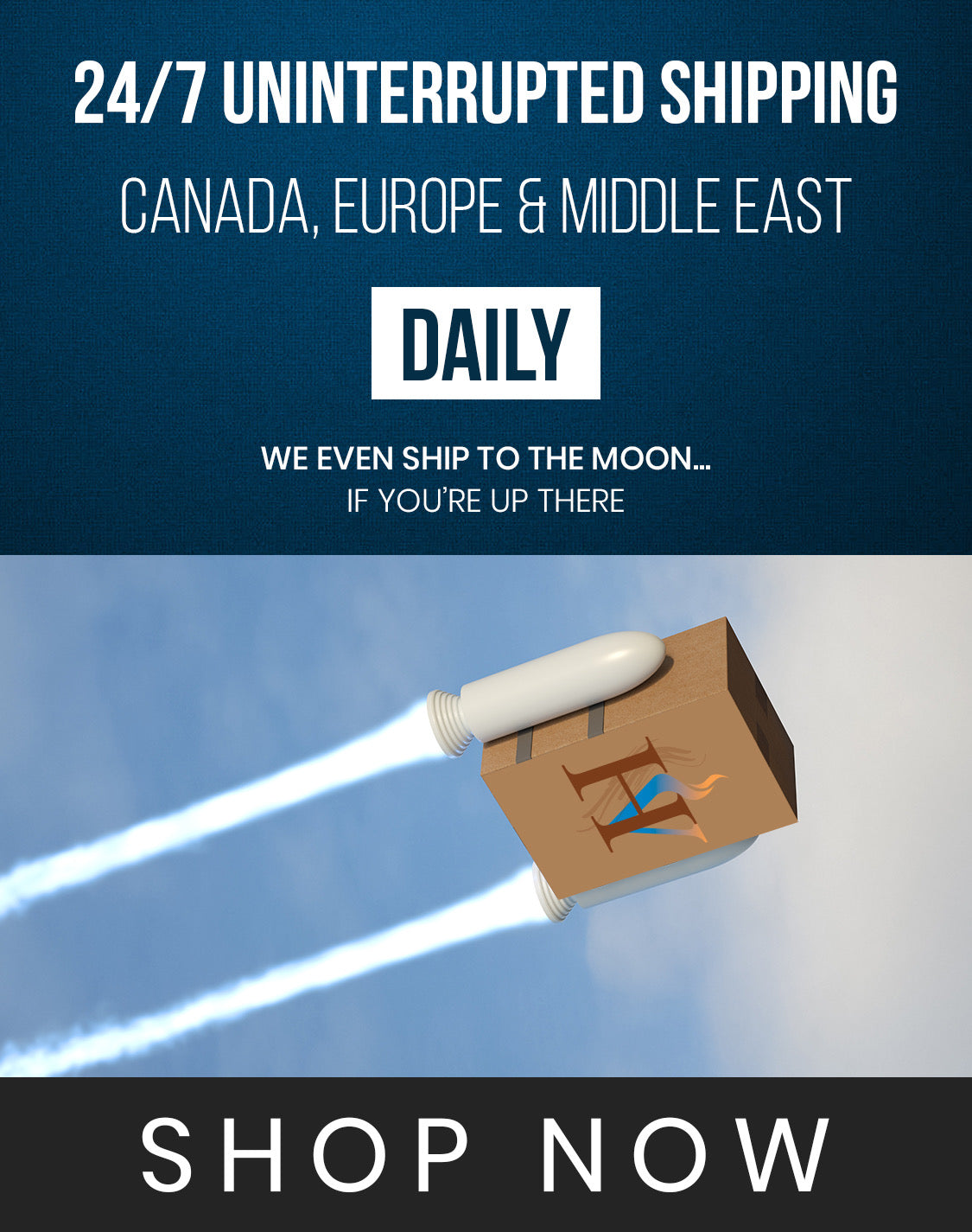 Shipping vape products in Canada, Europe and Middle East