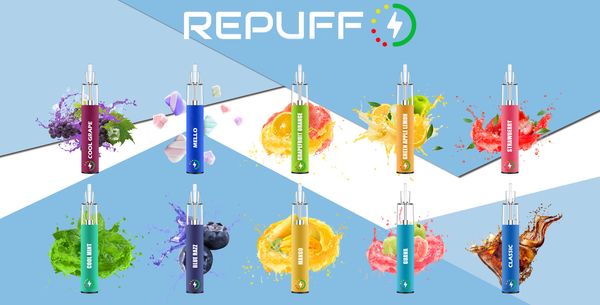 Repuff Disposable Vape Device View | TORONTO ONTARIO