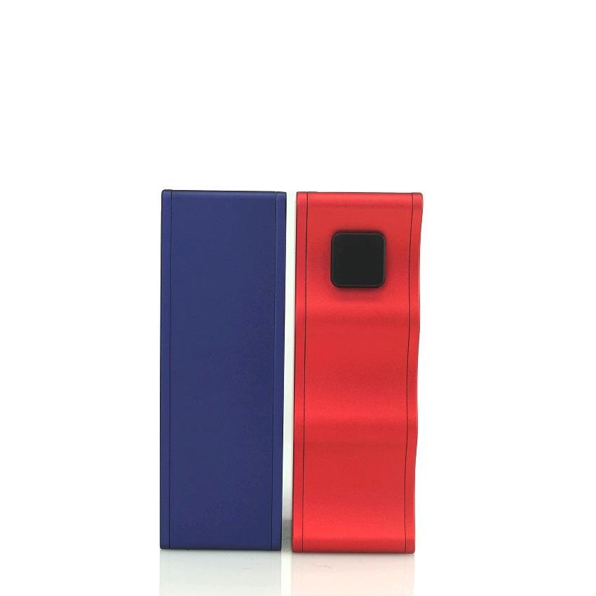 Mike Vapes Clutch 21700 Mechanical Squonk - Blue Device Back Red Front | Hazetown Vapes Vaughan Ontario Canada