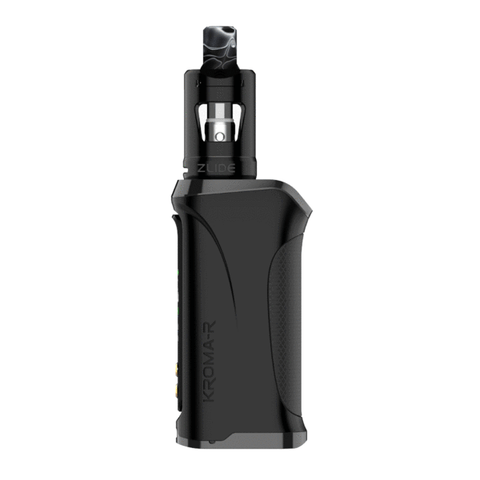 Innokin Kroma-R Zlide Kit - Black Device Side View | Hazetown Vapes Montreal Quebec Canada