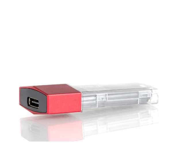 Suorin Edge-Replacement Battery Red Top View Hazetown Vapes Toronto Ontario Canada