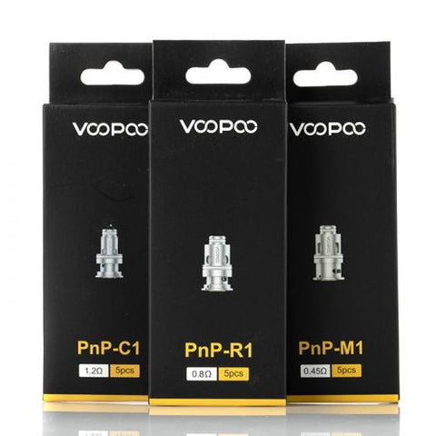 VOOPOO PnP Replacement Coils -3 Types of Coils | Hazetown Vapes Toronto Ontario Canada