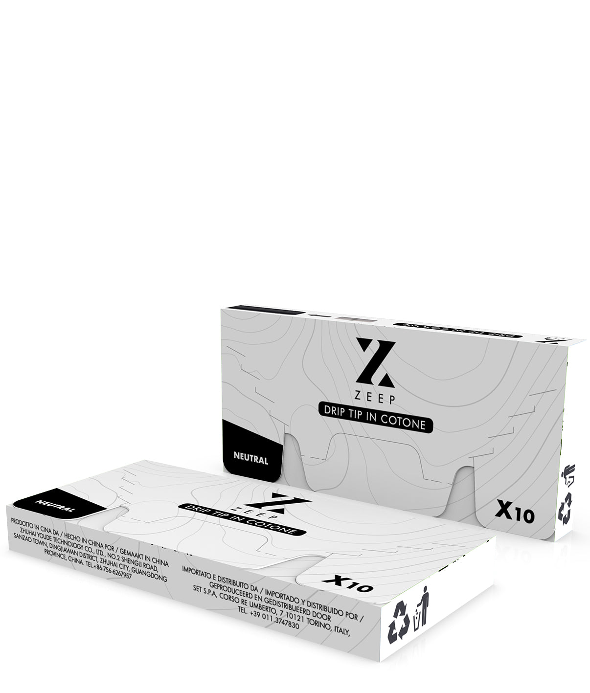 Zeep Vape Replacement Cotton Tips | Box package Hazetown Vapes Toronto