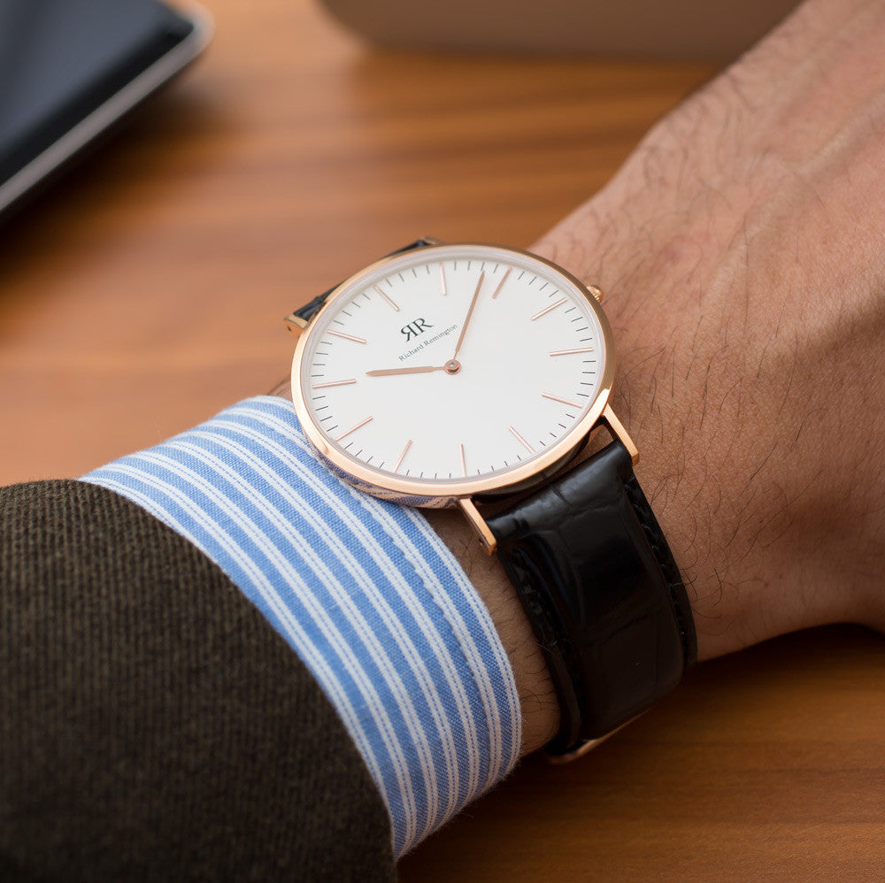 Classic Norwich Rose Gold 40mm