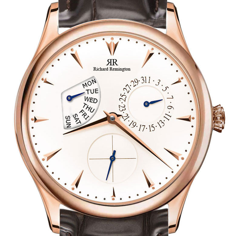 Master Warrington Day Date Rose Gold