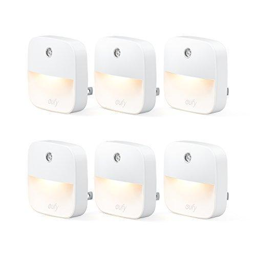 eufy Lumi Plug-in Night Light (6-pack)