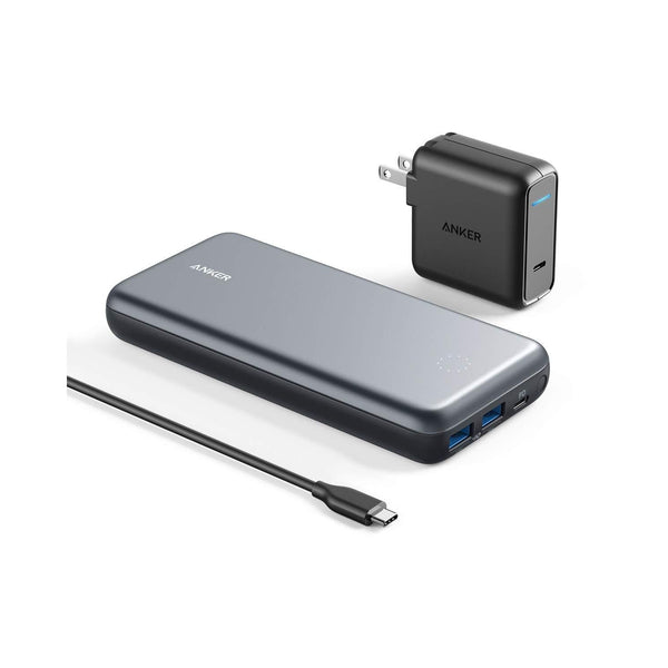 Anker PowerCore+ 19000 PD Hybrid Portable Charger & USB-C Hub