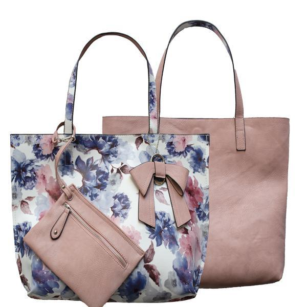 Nadia Reversible Tote by K. Carroll
