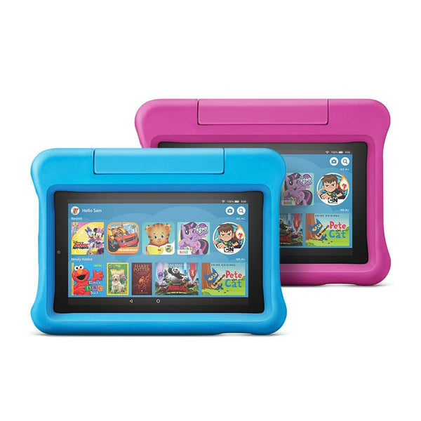 All-New Amazon Fire 7 Kids Edition Tablet Variety Pack, 16GB, Kid Proof Case