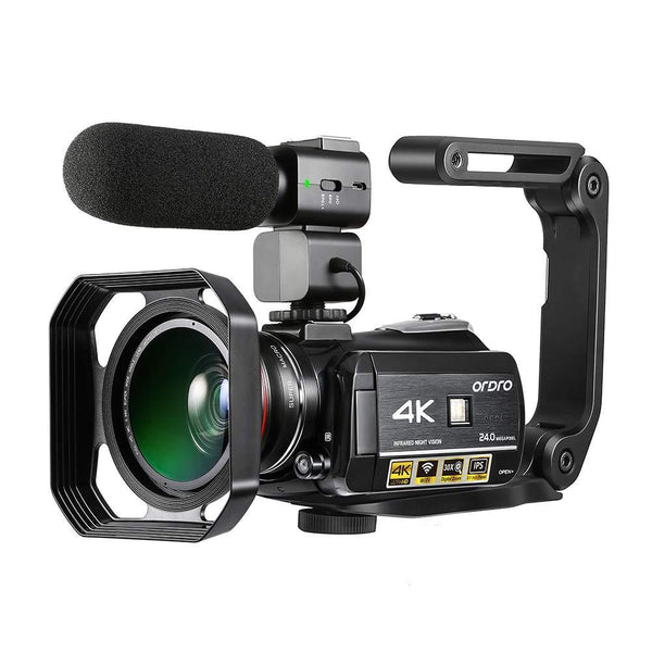 ORDRO HDR-AC3 4K Camcorder