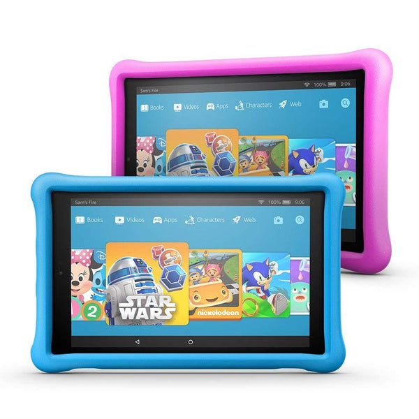 Amazon Fire HD 10 Kids Edition Tablet Variety Pack, 32 GB, Kid-Proof Case