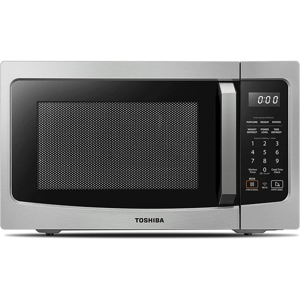 Toshiba ML-EM34P(SS) Smart Countertop Microwave Oven Works with Alexa