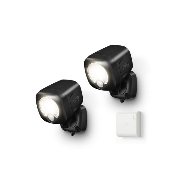 Ring Smart Lighting Spotlight 2-Pack + Bridge