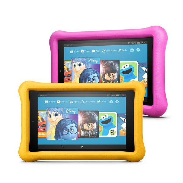 Amazon Fire HD 8 Kids Edition Tablet Variety Pack, 32GB, Kid Proof Case