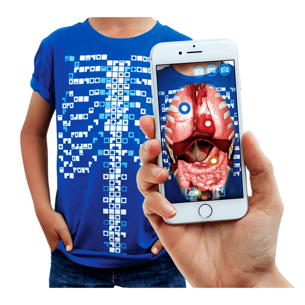 Curiscope Virtuali-Tee Augmented Reality T-Shirt
