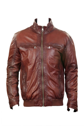 Schmidt Leather Jacket Men's