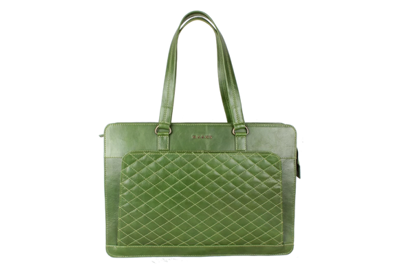 Forest Green Laptop Bag