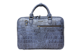 Workbag Blue Croco