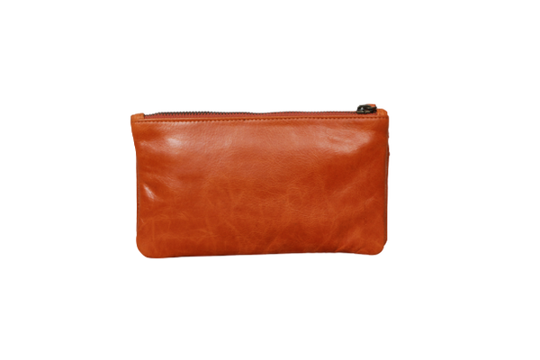 Riley Clutch Orange